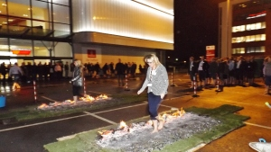 Old Trafford Cricket Firewalk
